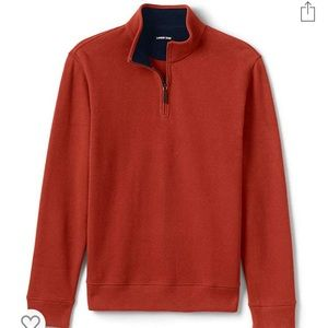 Mens quarter zip pullover